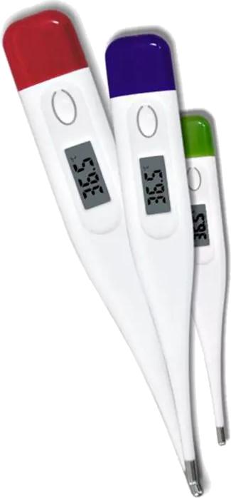 Termômetro clínico digital cores diversas domotherm incoterm