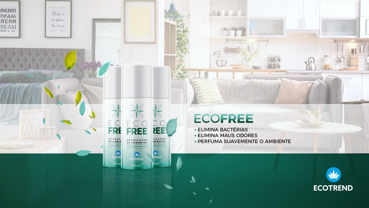 ECO FREE - Odorizador de Ambientes