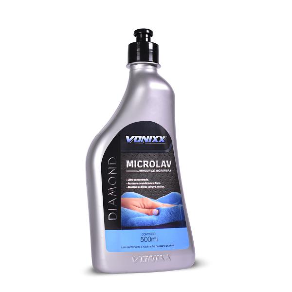 Microlav - Shampoo Limpador para Microfibra (500ml) - Vonixx