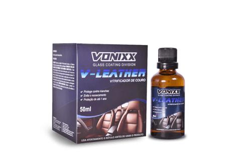 V-Leather ? Vitrificador de couro (50ml) - Vonixx