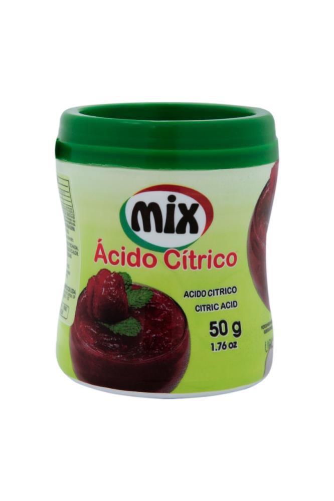 Ácido Cítrico 50g - Mix