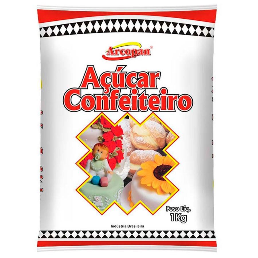 Açúcar de Confeiteiro Arcopan - Arcolor