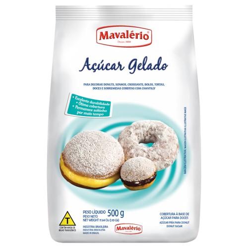 Açúcar Gelado p/ Doces 500gr - Mavalério