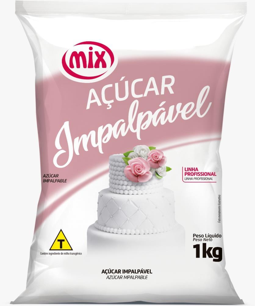 Açúcar Impalpável 1kg - Mix.