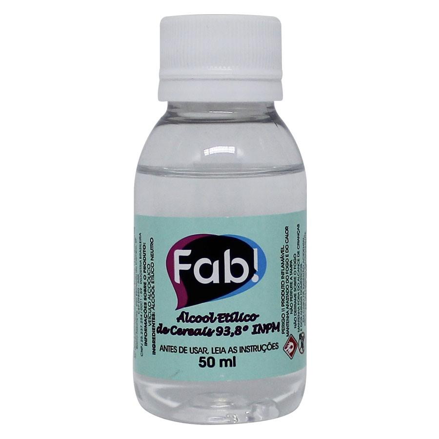 Álcool de Cereais p/ Decoração 50ml - Fab.