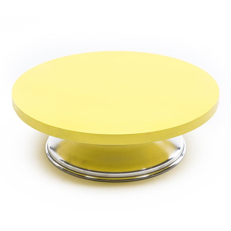 Bailarina Giratória Profissional Amarela 30cm - Caparroz