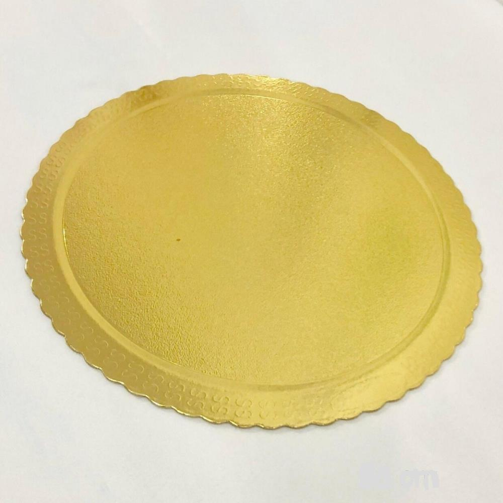 Cakeboard Redondo Ouro 21cm - Ultrafest