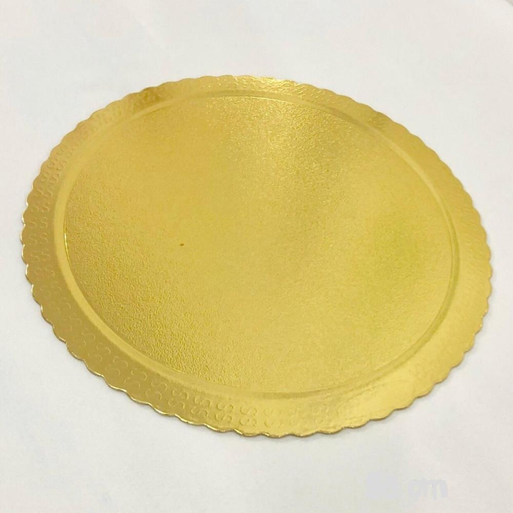 Cakeboard Redondo Ouro 26cm - Ultrafest