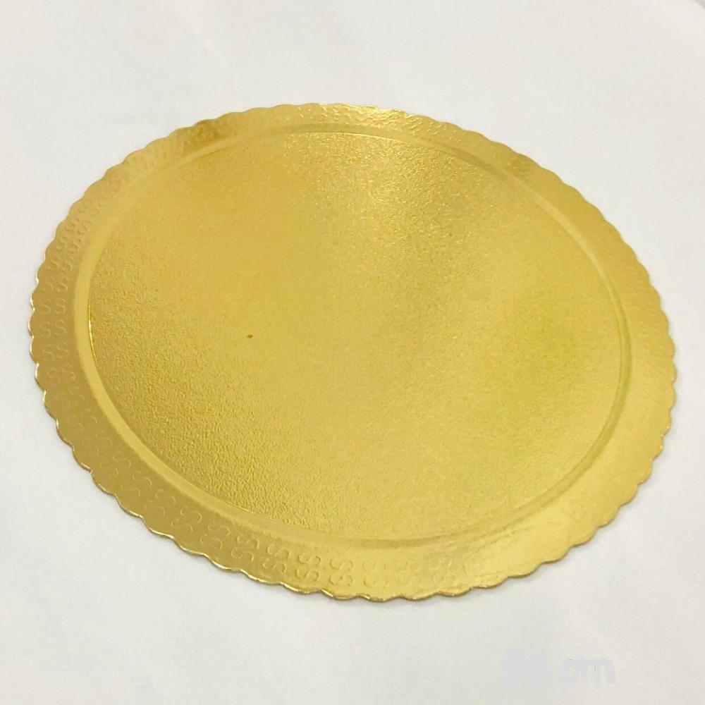 Cakeboard Redondo Ouro 38cm - Ultrafest