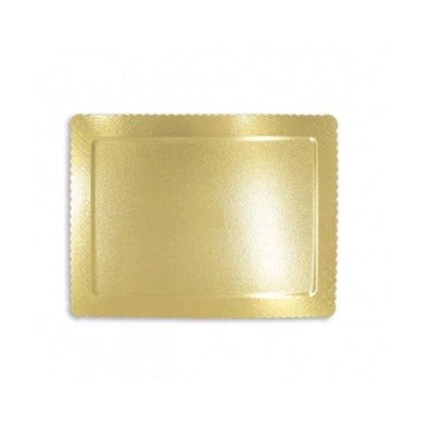Cakeboard Retangular Ouro 35x20cm - Ultrafest