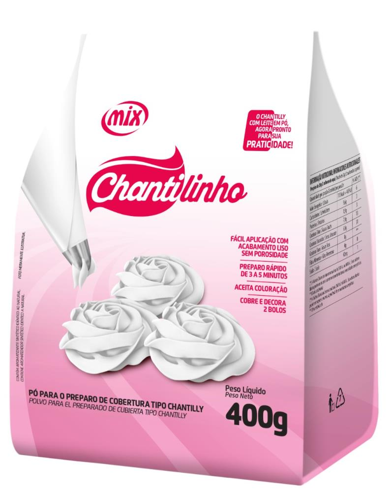 Chantilinho em Pó 400g - Mix