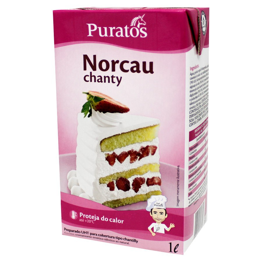 Chantilly Norcau Chanty 1L - Puratos