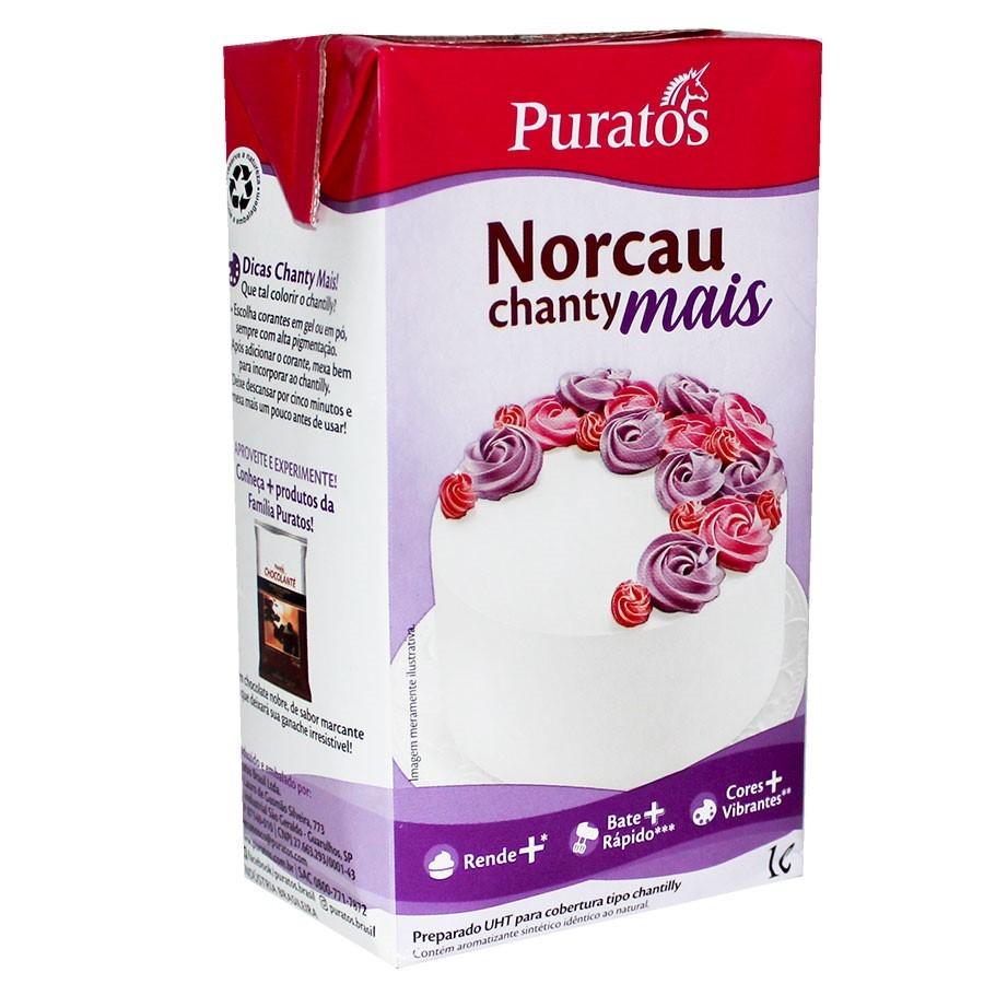 Chantilly Norcau Chanty Mais 1L - Puratos
