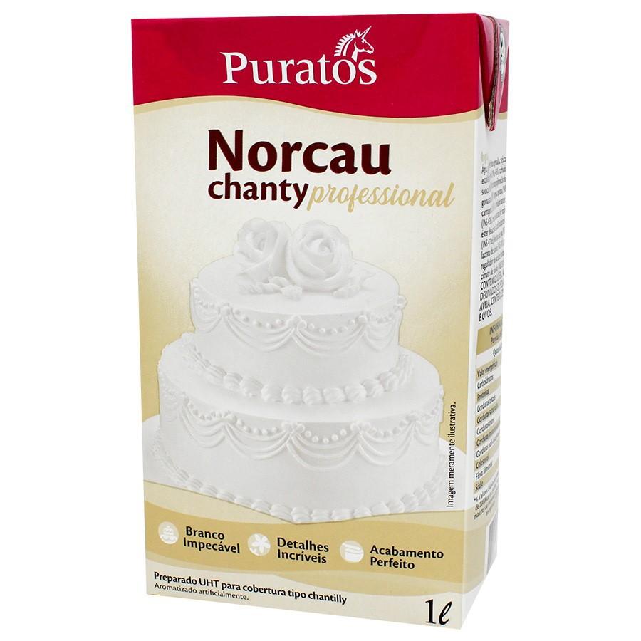 Chantilly Norcau Chanty Professional 1L - Puratos