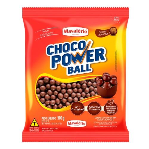 Choco Power Ball Chocolate 500gr - Mavalério