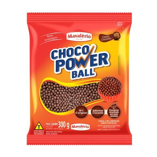 Choco Power Ball Micro Chocolate 300gr - Mavalério