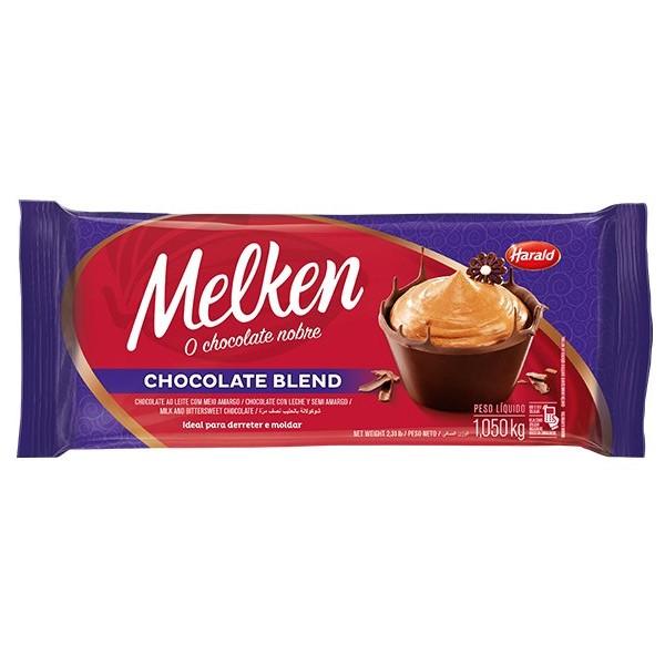 Chocolate Melken Blend Barra 1,05Kg - Harald
