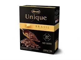 Chocolate Unique ao Leite 35% Gotas 1,05Kg - Harald