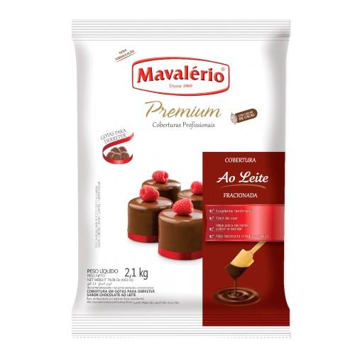 Cobertura em Gotas Chocolate Ao Leite 2,1kg - Mavalério