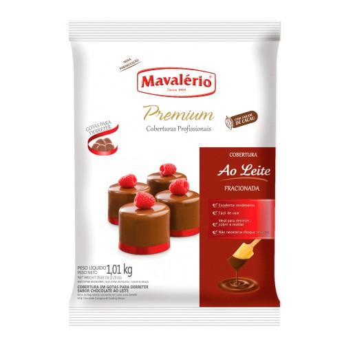 Cobertura Premiun Gotas Chocolate Ao Leite 1,01kg - Mavalério