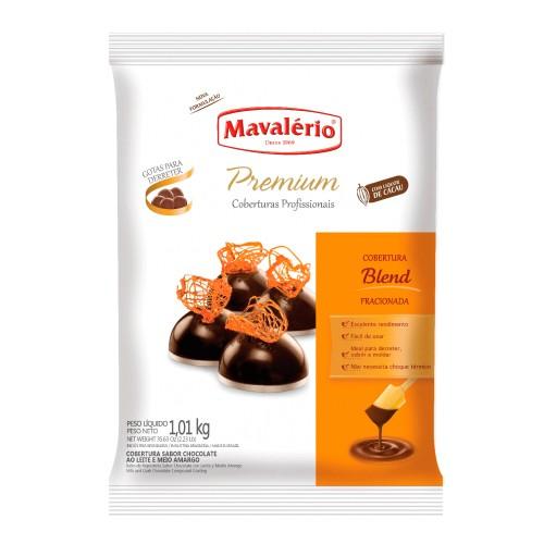 Cobertura Premiun Gotas Chocolate Blend 1,01kg - Mavalério
