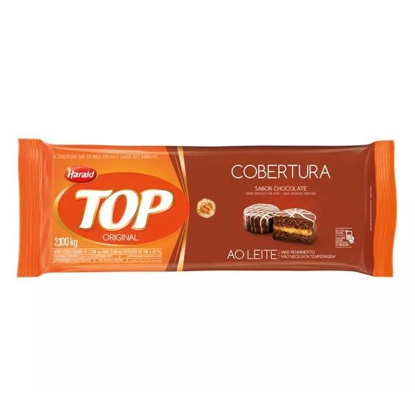 Cobertura Top Barra Chocolate ao Leite 2,1Kg - Harald