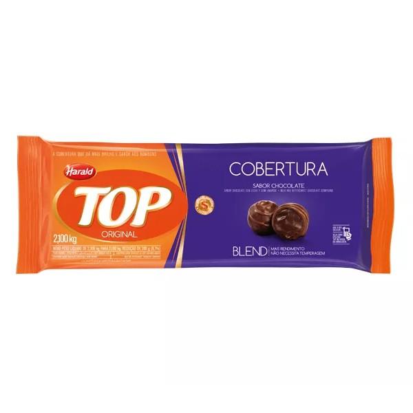 Cobertura Top Barra Chocolate Blend 2,1Kg - Harald