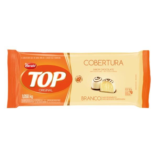 Cobertura Top Barra Chocolate Branco 1,05Kg - Harald