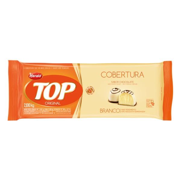 Cobertura Top Barra Chocolate Branco 2,1Kg - Harald