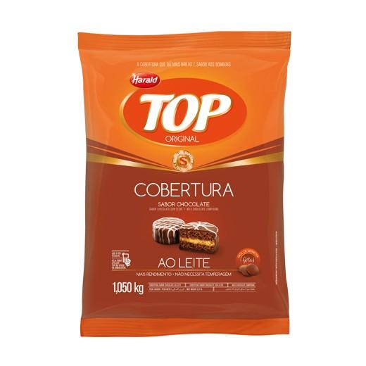 Cobertura Top Gotas Chocolate ao Leite 1,05Kg - Harald