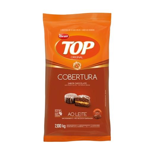 Cobertura Top Gotas Chocolate ao Leite 2,1Kg - Harald