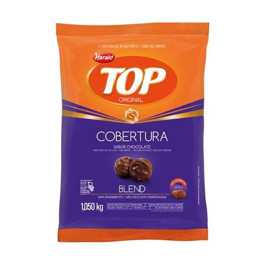 Cobertura Top Gotas Chocolate Blend 1,05Kg - Harald