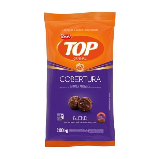 Cobertura Top Gotas Chocolate Blend 2,1Kg - Harald