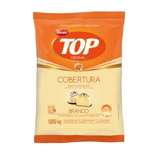 Cobertura Top Gotas Chocolate Branco 1,05Kg - Harald