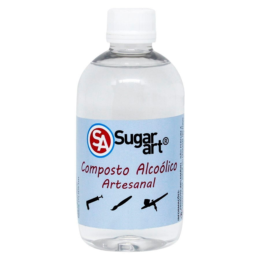 Composto Alcoólico Artesanal 270ml  - Sugar Art