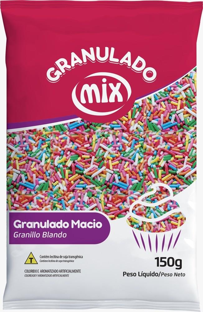 Confeito Granulado Macio Misto 150g - Mix