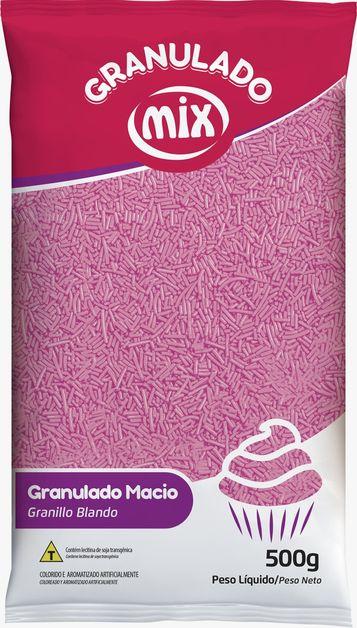 Confeito Miçanga Rosa - Mix