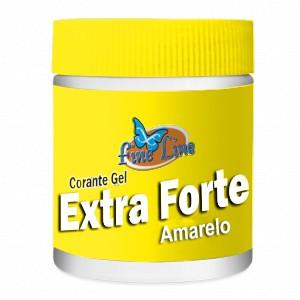 Corante em Gel Extra Forte Amarelo 50g- Fineline