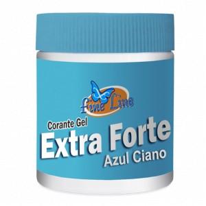 Corante em Gel Extra Forte Azul 50g- Fineline