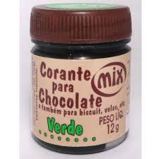 Corante Para Chocolate Verde 12g - Mix