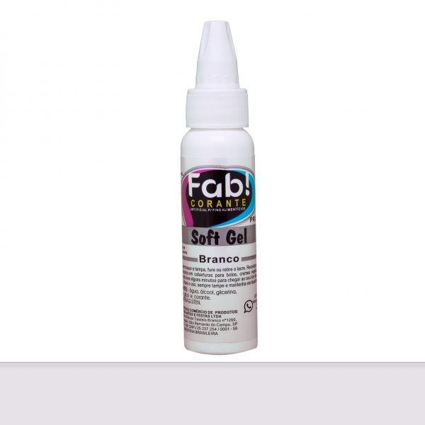 Corante SoftGel Branco 25g - Fab