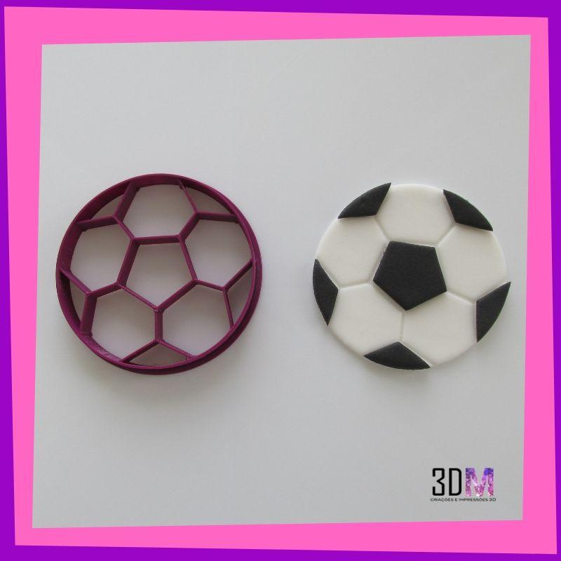 Cortador Bola de Futebol - 3DM