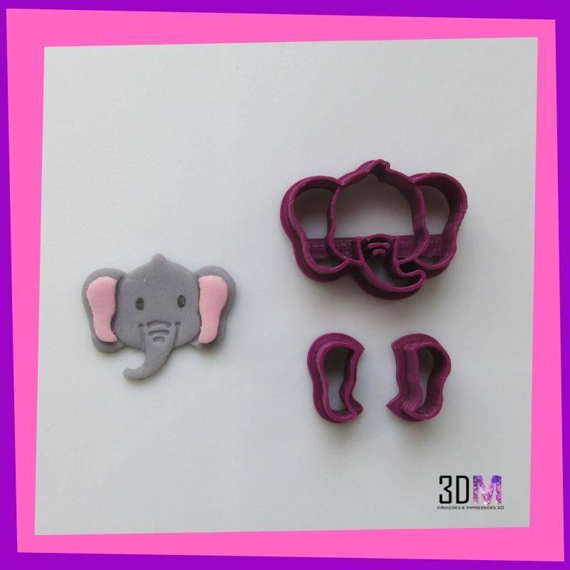Cortador de Elefante Rostinho - 3DM