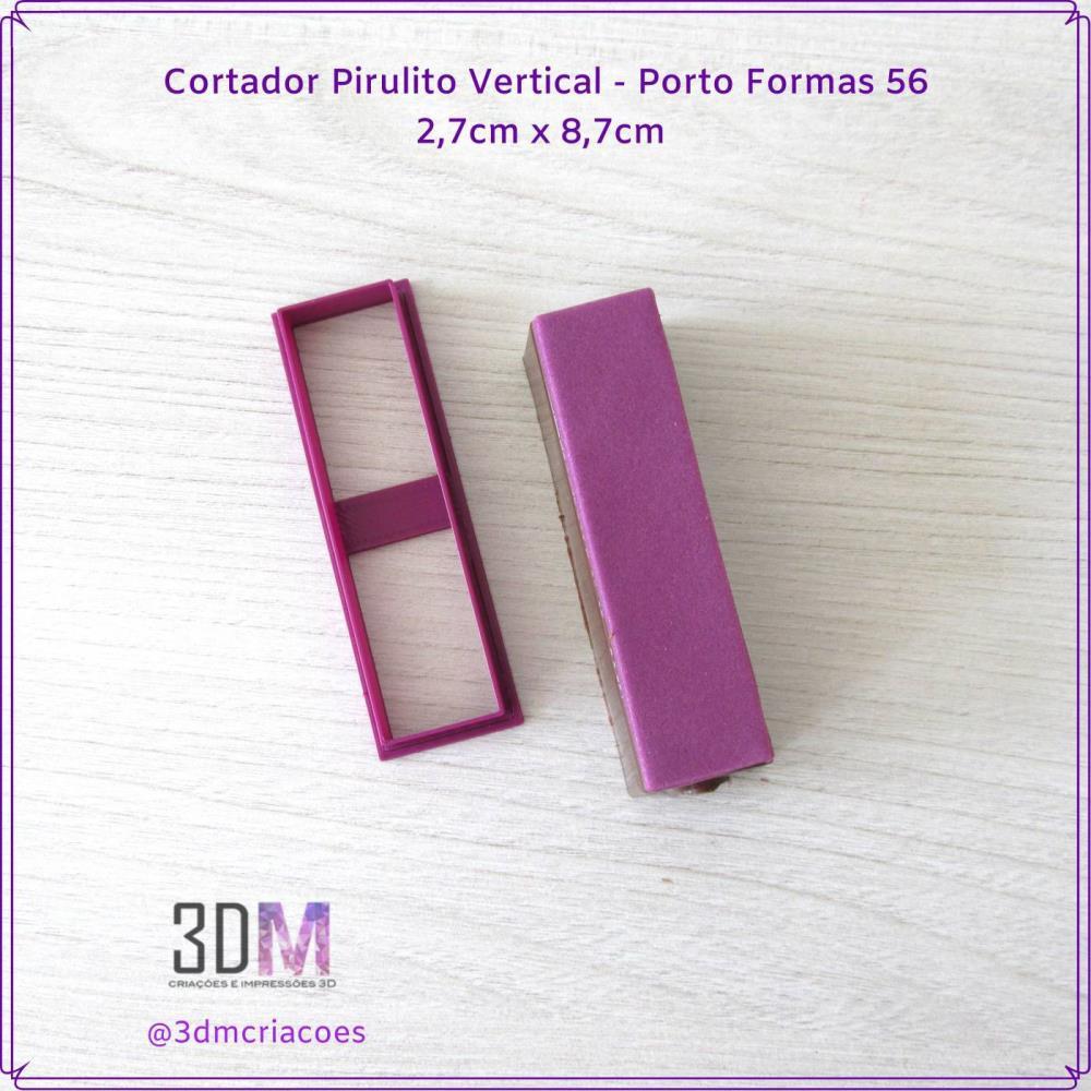 Cortador Pirulito Vertical Porto Formas 56 - 3DM
