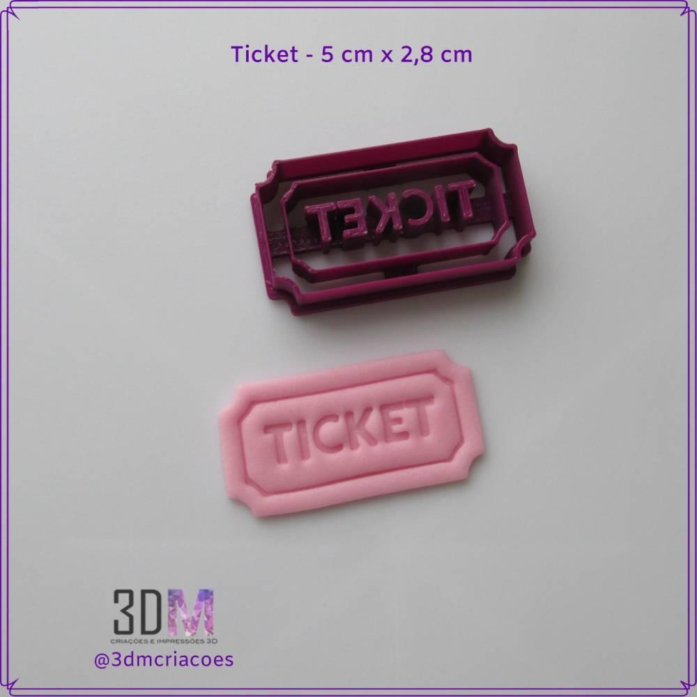 Cortador Ticket - 3DM