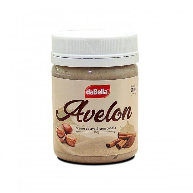 Creme de Avelã Branco c/ Canela Avelon 300g - DaBella