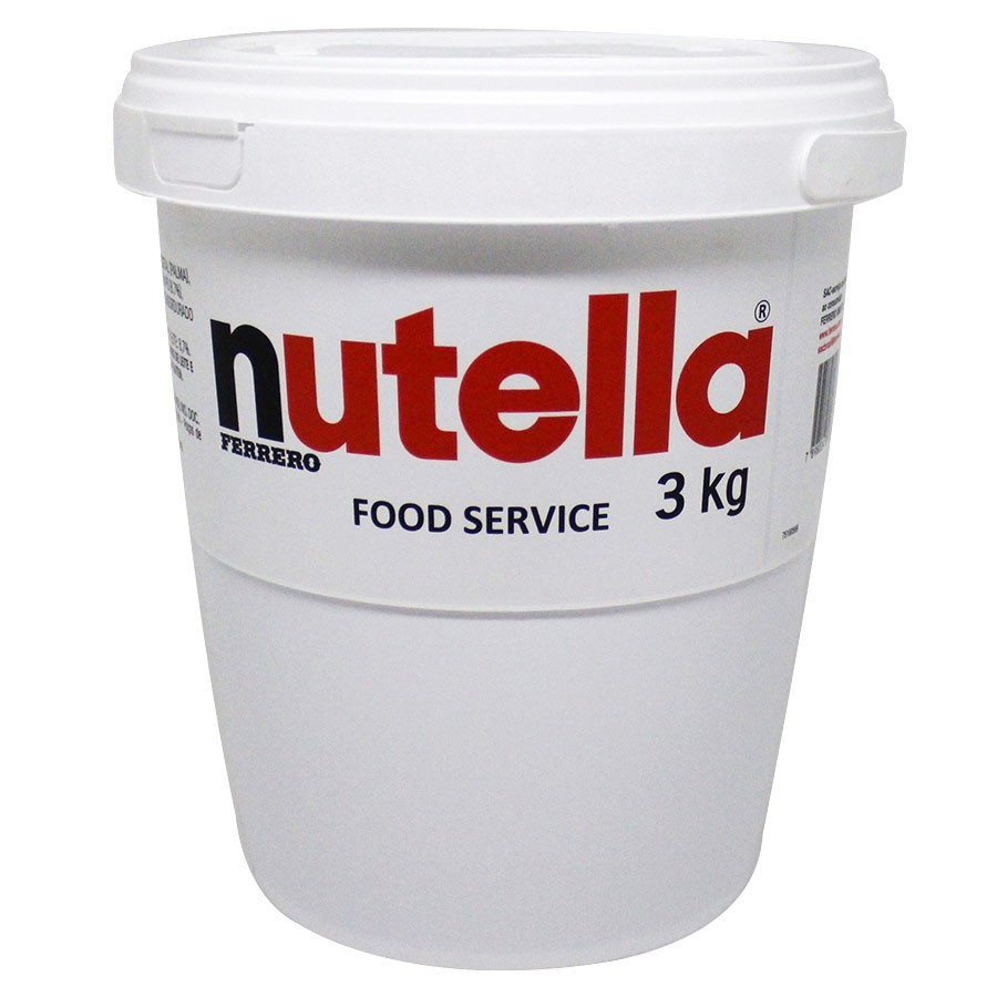 Creme de Avelã Nutella 3kg - Ferrero