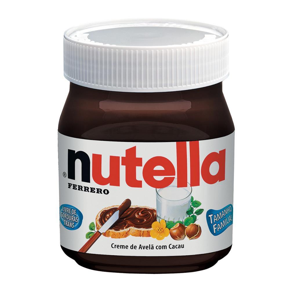 Creme de Avelã Nutella 650gr - Ferrero