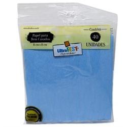 Embalagem Bem Casado Azul Claro - Ultrafest