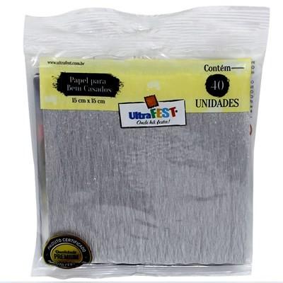 Embalagem Bem Casado Prata - Ultrafest